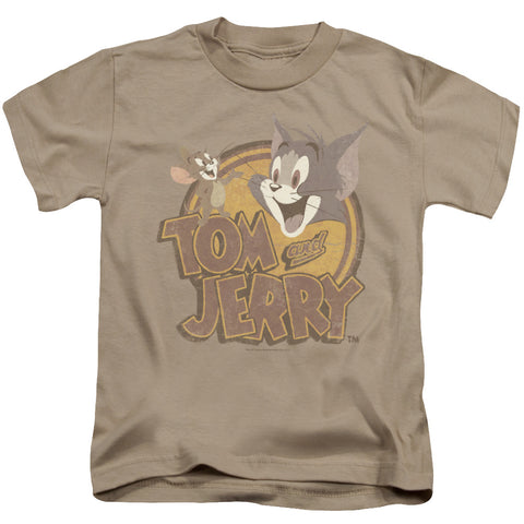 Tom And Jerry Water Damaged Juvenile 18/1 Cotton SS T