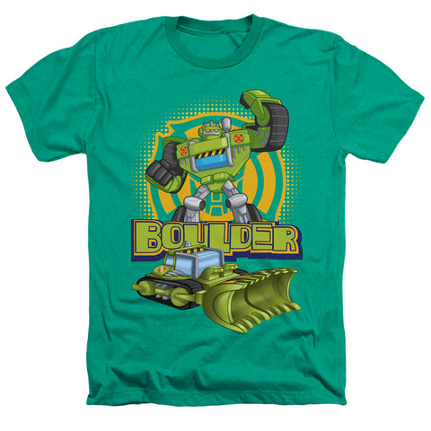 Transformers Boulder Men's 30/1 Heather 60 40 Poly SS T