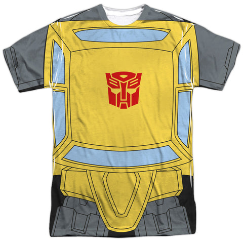 Transformers Bumblebee Costume Men's Regular Fit Polyester SS T