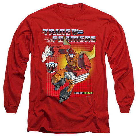 Transformers Hot Rod Men's 18/1 Cotton LS T