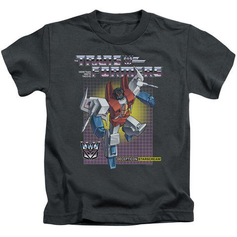 Transformers Starscream Juvenile 18/1 Cotton SS T
