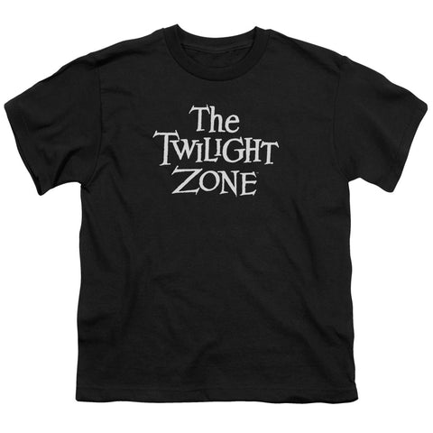 Twilight Zone Logo Youth 18/1 100% Cotton SS T