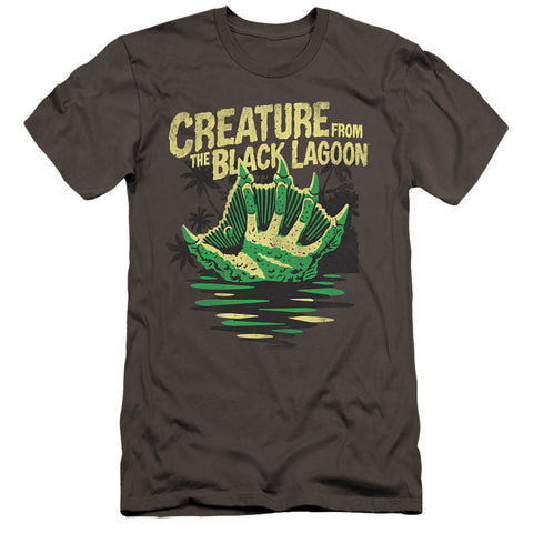 Universal Monsters Creature Breacher Men's Ultra-Soft 30/1 Cotton Slim SS T