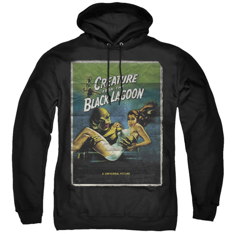 Universal Monsters Creature One Sheet Men's Pull-Over 75 25 Poly Hoodie