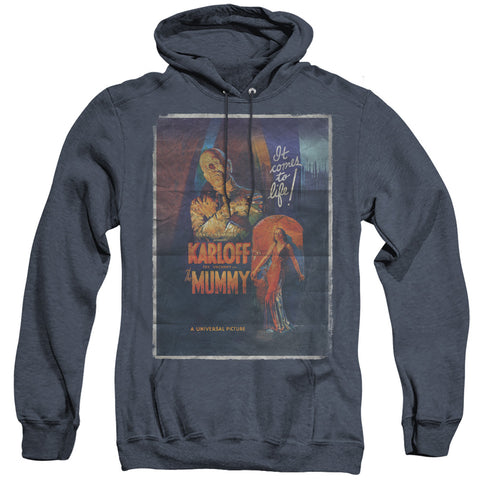 Universal Monsters Mummy One Sheet Men's Pull-Over Hoodie