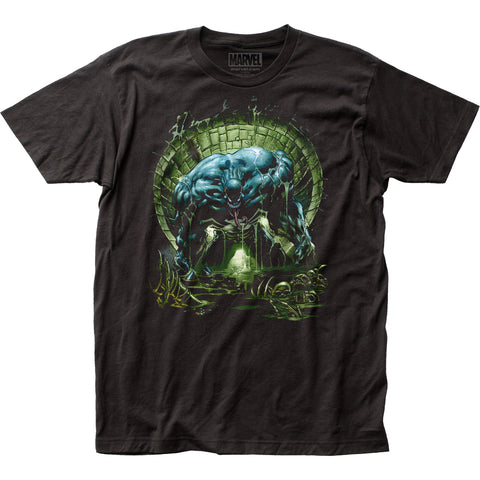 Venom Sewer fitted jersey tee - Men's - 100% Cotton