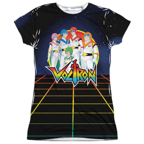 Voltron Team Voltron Junior's Poly Cap-Sleeve T