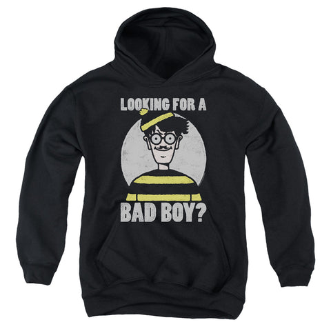 Where's Waldo Bad Boy Youth Cotton Poly Pull-Over Hoodie