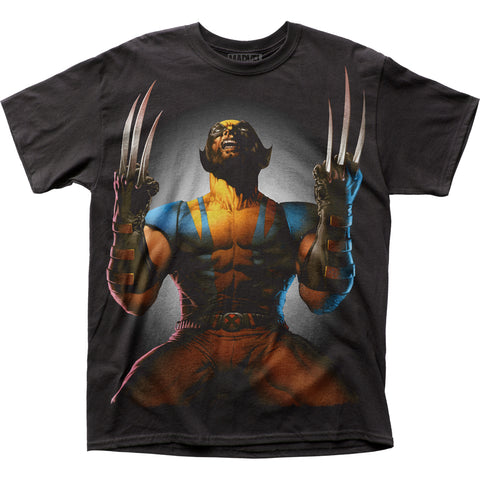 Wolverine Claws Drawn big print men's subway tee