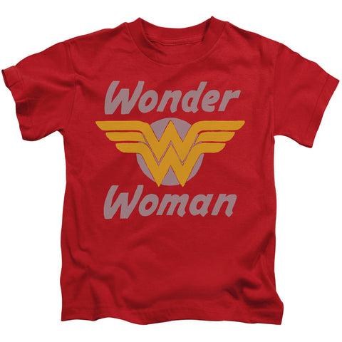 Wonder Woman Wonder Wings Juvenile 18/1 Cotton SS T