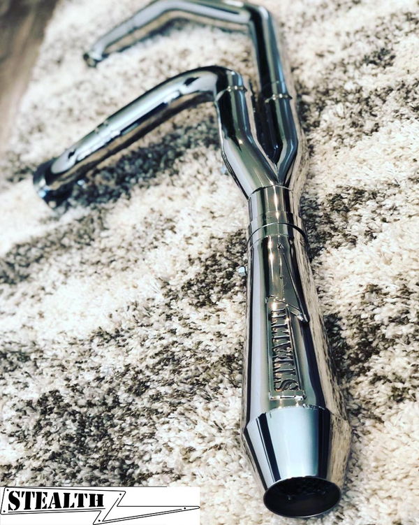 96-16 Short Bagger Exhaust