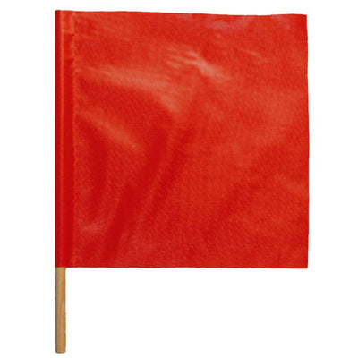 SAFETY FLAG W/ 2' DOWELL