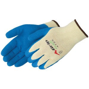 GLOVE BLUE LATEX PALM