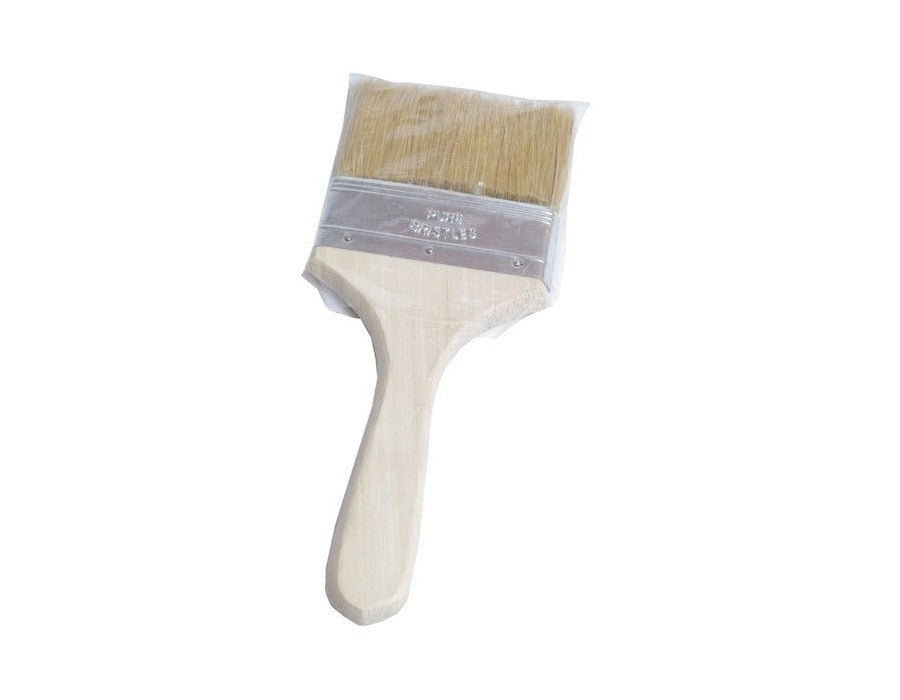 PAINT BRUSH WOODEN HANDLE 4""