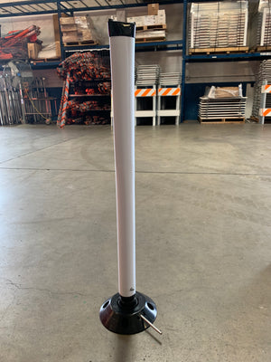 "CHANNELIZER 36"" WHITE POST"