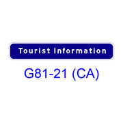 TOURIST INFORMATION G81-21(CA)