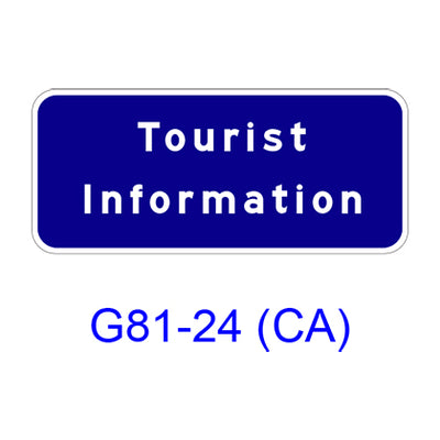 TOURIST INFORMATION G81-24(CA)