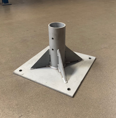 ROUND POST SURFACE MOUNT BASE