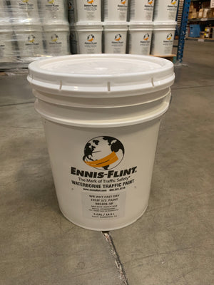 PAINT WHITE FAST DRY 5 GAL
