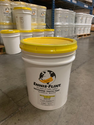 PAINT YELLOW FAST DRY 5 GAL
