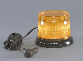 12/24 AMBER HP LED BEACON (MAG