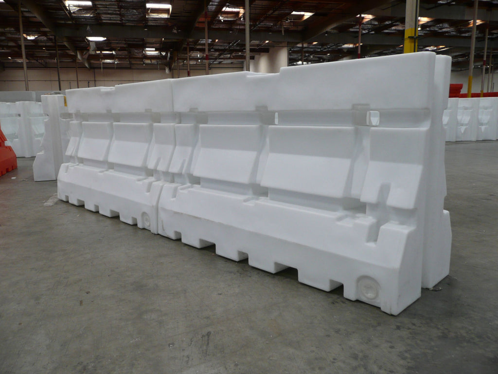"WATER FILL K RAIL WH 42"" X 6'"