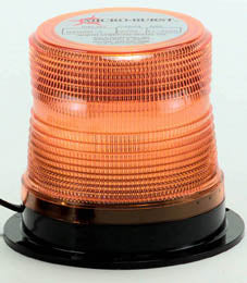 12/24 V DC AMBER QF LED BEACON