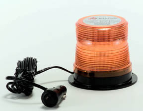 12/24 V DC AMBER QF LED BEACON MAG MT