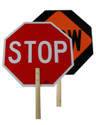 STOP/SLOW PADDLE NR