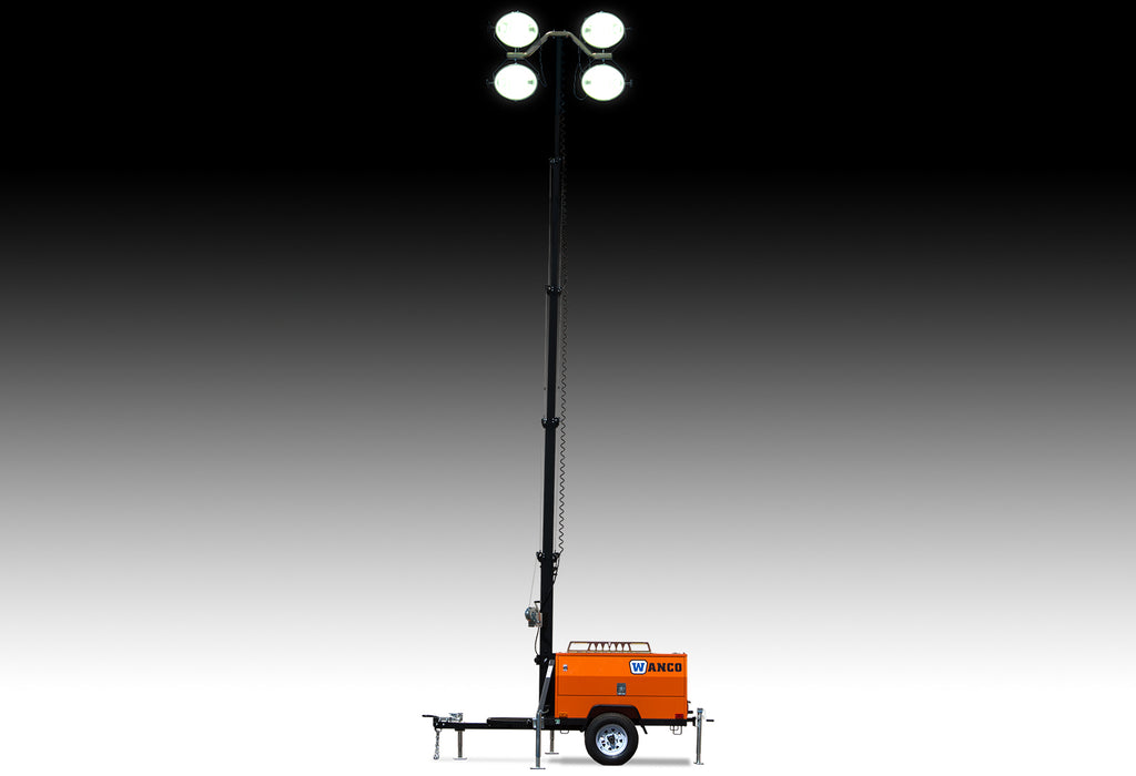 WANCO Vertical-Mast Diesel Light Towers WLT-4MV