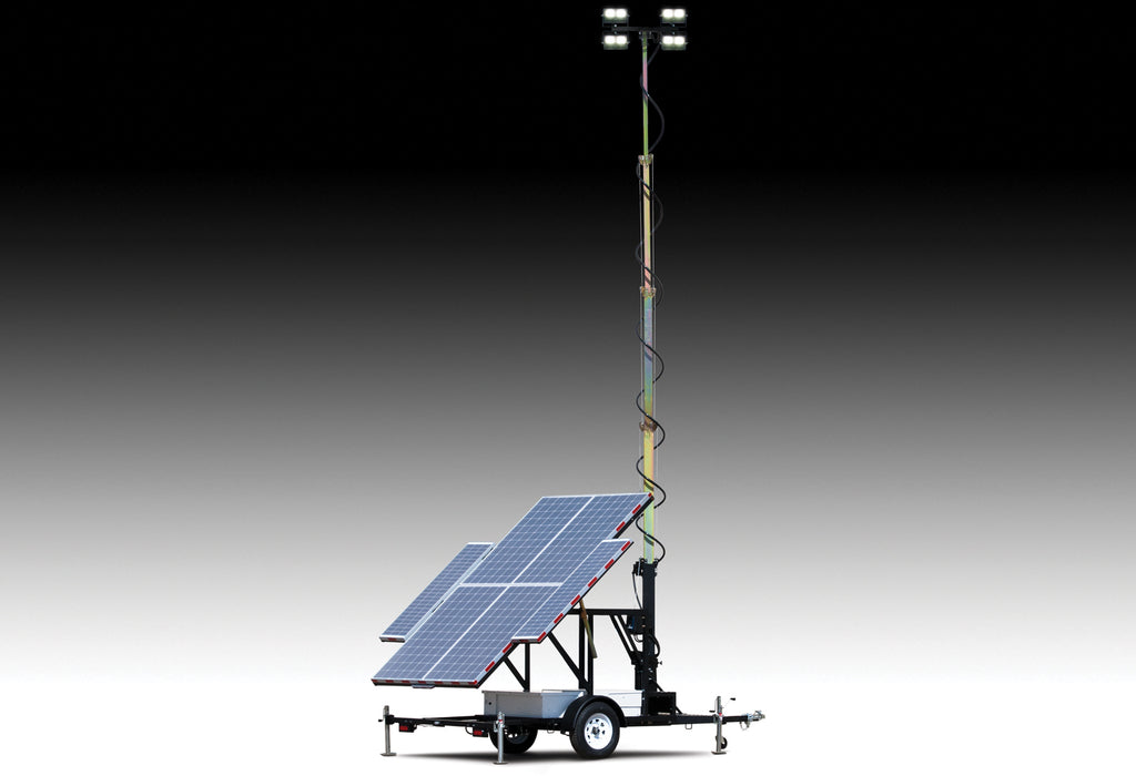 WANCO Large Solar Light Towers WLTS‐LM