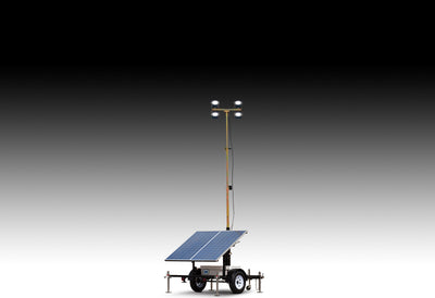 WANCO Small Solar Light Towers WLTS‐SM