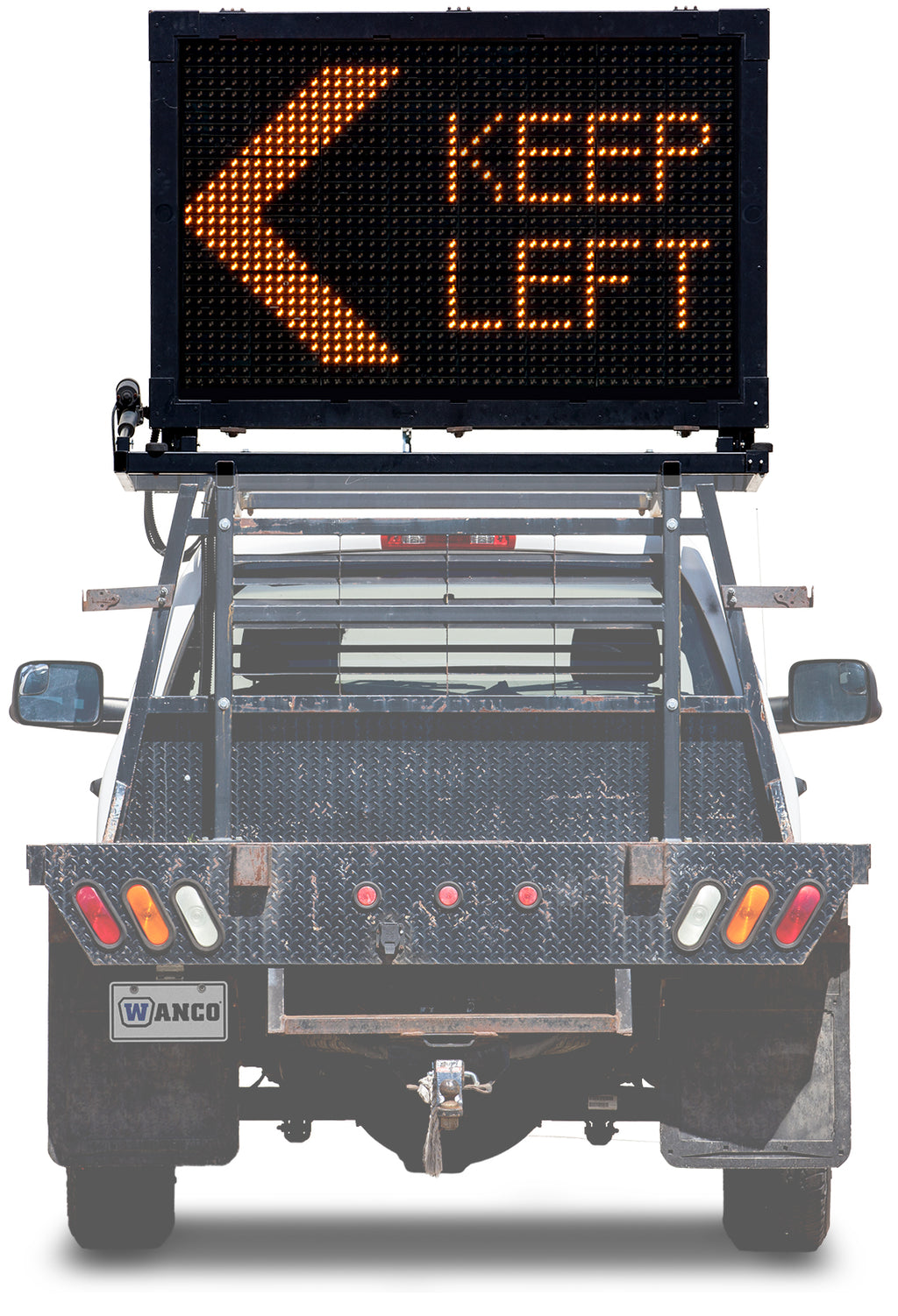 WANCO Truck Mount Message Sign, WVMBM-3LP