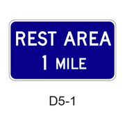 REST AREA  XX MILE D5-1