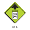 Reduced School Speed Limit Ahead S4-5