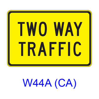 TWO WAY TRAFFIC W44A(CA)
