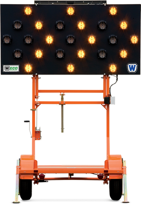 WANCO 25-LAMP ARROW BOARD TRLR
