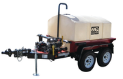 WATER TRAILER 500GAL WYLIE