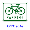Bike PARKING [symbol] G93C(CA)