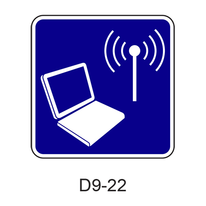 Wireless Internet [symbol] D9-22