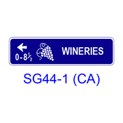 Tourist Oriented Directional [symbol] SG44-1(CA)