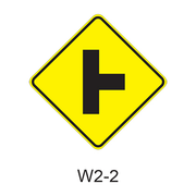 Intersection Warning W2-2