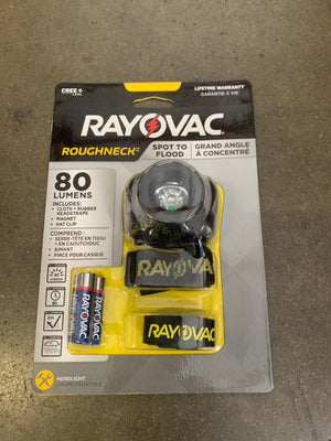 RAYOVAC ROUGHNECK HEADLIGHT