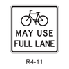 Bicycles May Use Full Lane [symbol]