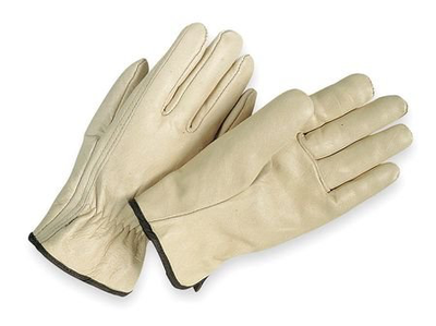 DRIVER GLOVES COWHIDE XL