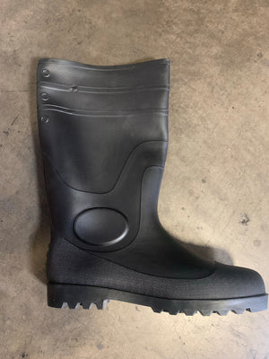RAIN BOOT PLAIN TOE
