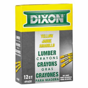 LUMBER CRAYON YELLOW