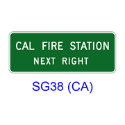 CAL FIRE STATION NEXT RIGHT (LEFT) SG38(CA)