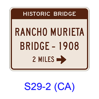 Advance Historic Bridge(X MILES) S29-2(CA)