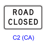 ROAD CLOSED C2(CA)